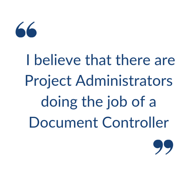 Document Controller quote